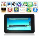 Android 2.2 Cortex A9 800MHZ 512MB RAM WIFI 7 inch Tablet PC