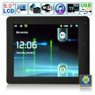 Android 2.3.1 Tablet PC-8 Inches TFT Dual-touch Resistive LCD M8004(Black)