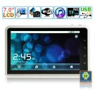 Android 2.2 Tablet PC-7 inches TFT Capacitive LCD-ARM Cortex A9 Dual Core @ 533MHz M7003B(White)