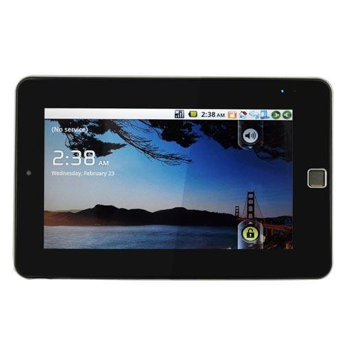 """Pad U27: Android 2.2 Tablet PC, 1G CPU, WiFi, 3G, Flash, 7"""" Touch Screen, Camera, HDMI Output"""
