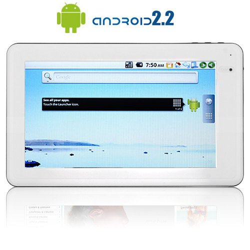 "cTab C11: 7"" Screen, Flash, 1GHz CPU, 512M RAM, Ultra-portable, Camera, Android 2.2 Tablet"
