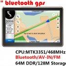 5 Inch Gps Navigation System 5656
