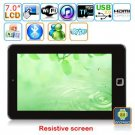 Android 2.3  7-inch Resistive Touch Screen Tablet PC - YX-7A01