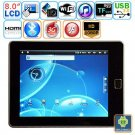 Android 2.2 WIFI G-sensor 8-inch Resistive Touch Screen Tablet PC - A9