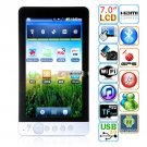 Android 2.2 Cortex-A8 512MB DDR2 4GB WIFI Bluetooth GPS 7-inch Capacitive Tablet PC - S7
