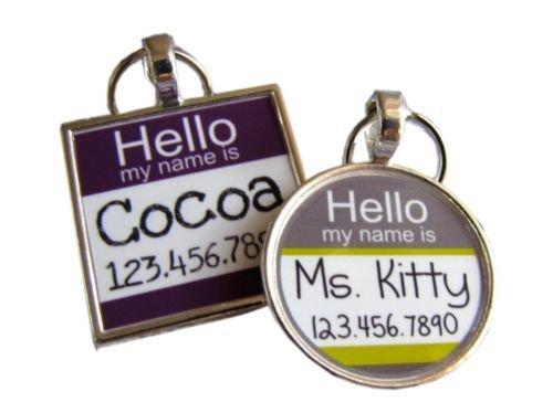 Hello My Name Is...Custom Pet ID NameTag