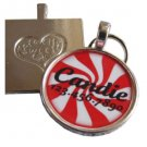 Peppermint Stripes Pet ID Tag