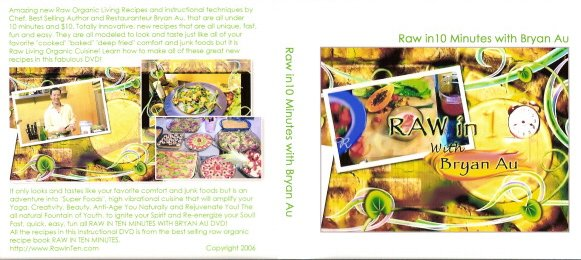 RAW IN TEN MINUTES instructional DVD