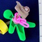 PLASTIC PERSON TALON TOY - a bird toy parrot toys