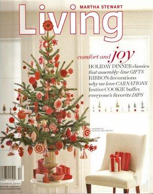 December 2004 Issue 133 Christmas Martha Stewart Living magazine
