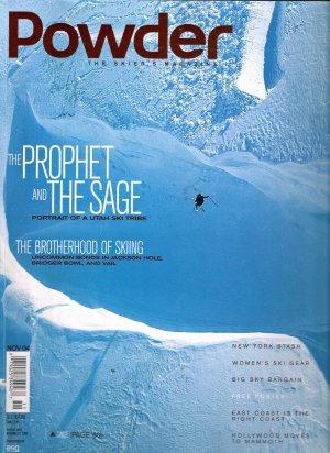 Powder Ski Magazine November 2004 Volume 33 No 3 Sage Cattabriga-Alosa