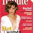 Tribute October November 2010 Hot Women in Film Rachel McAdams