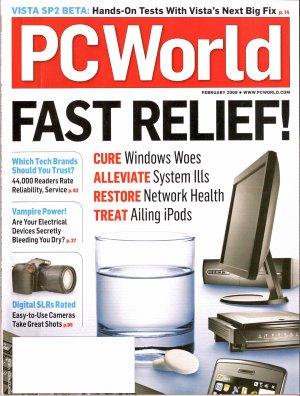 PC World February 2009 Cure Alleviate Restore Treat