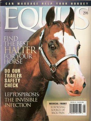EQUUS Horse August 2002 Issue 298 Find the Best Halter