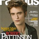 Robert Pattinson Famous June 2010 Volume 11 Number 6