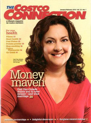 Gail Vaz-Oxlade Costco Connection Canadian January February 2010