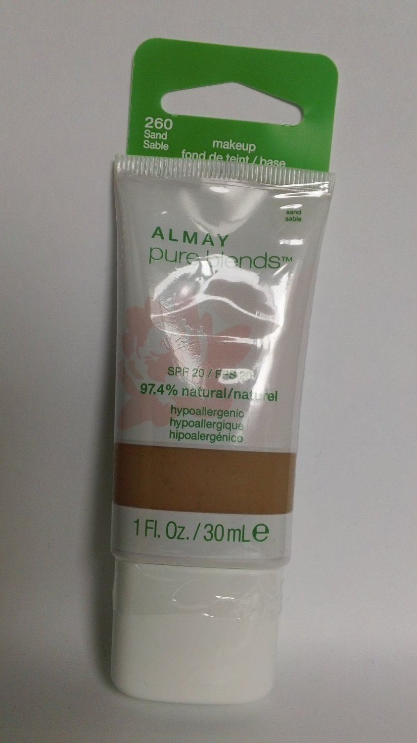 Almay Pure Blends Makeup Foundation #260 Sand