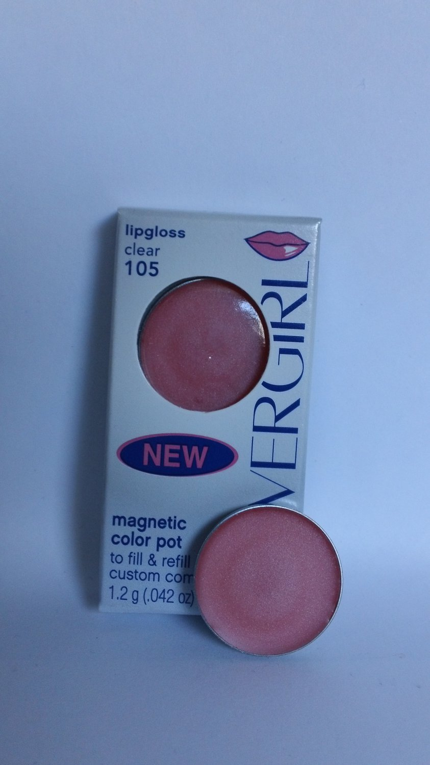 CoverGirl Magnetic Color Pot Lip Gloss #105 Clear