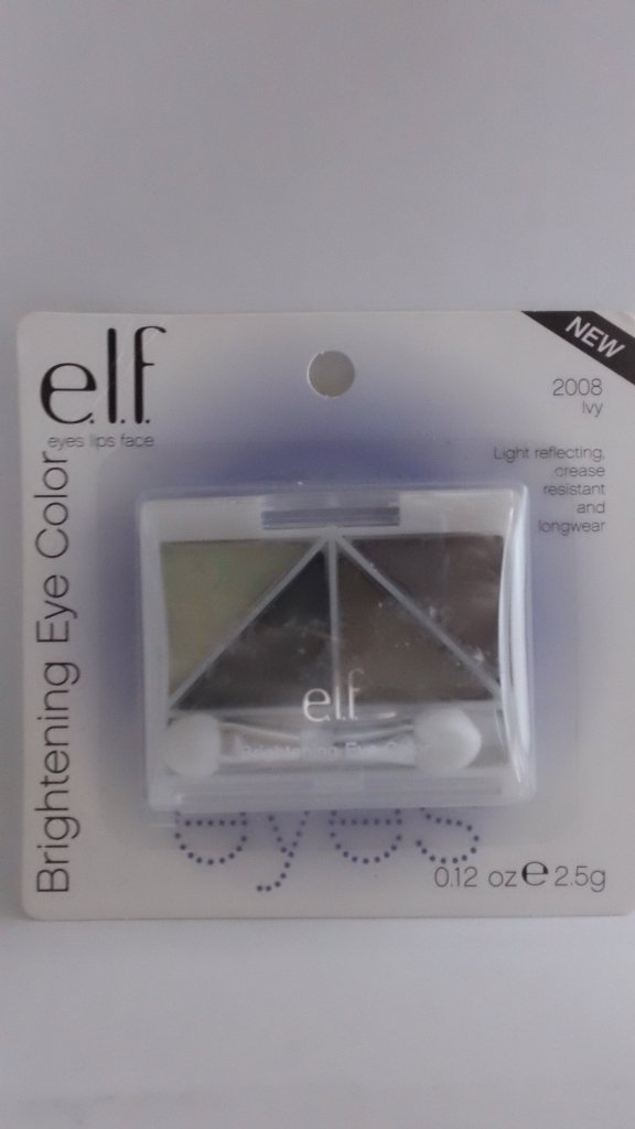 E.L.F. Essential Brightening Eye Color Shadow ELF Eyeshadow #2008 Ivy discontinued