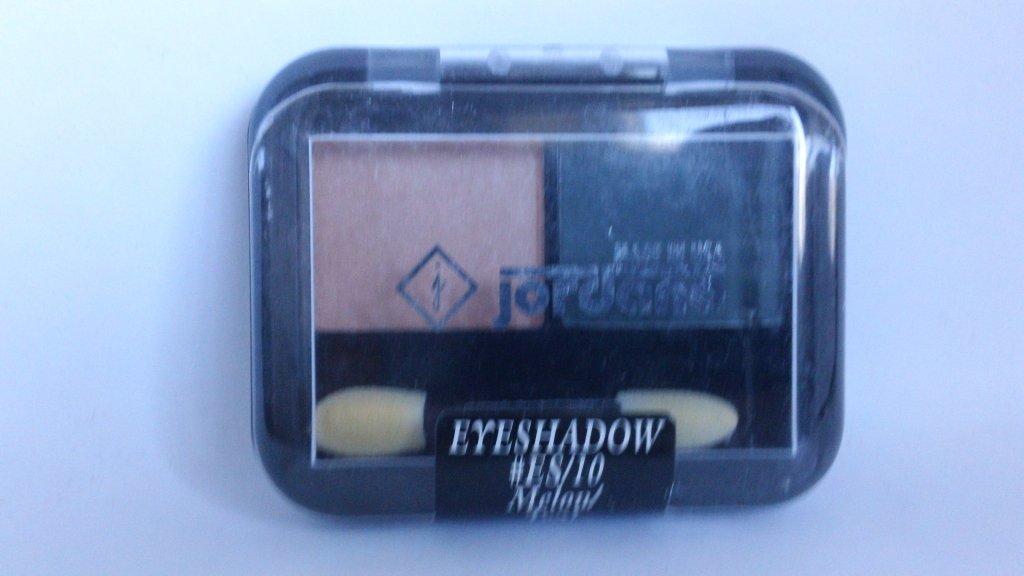Jordana 2 Color Eyeshadow Duo ES 10 Melon Teal eye shadow
