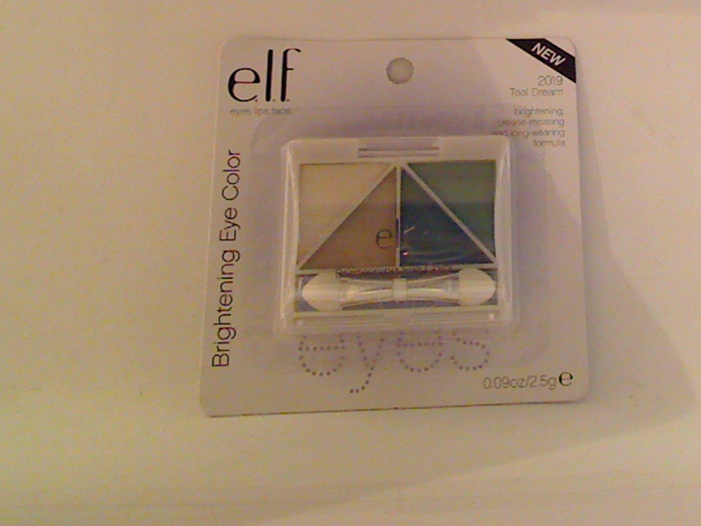 E.L.F. Essential Brightening Eye Color Shadow ELF Eyeshadow #2019 Teal Dream discontinued