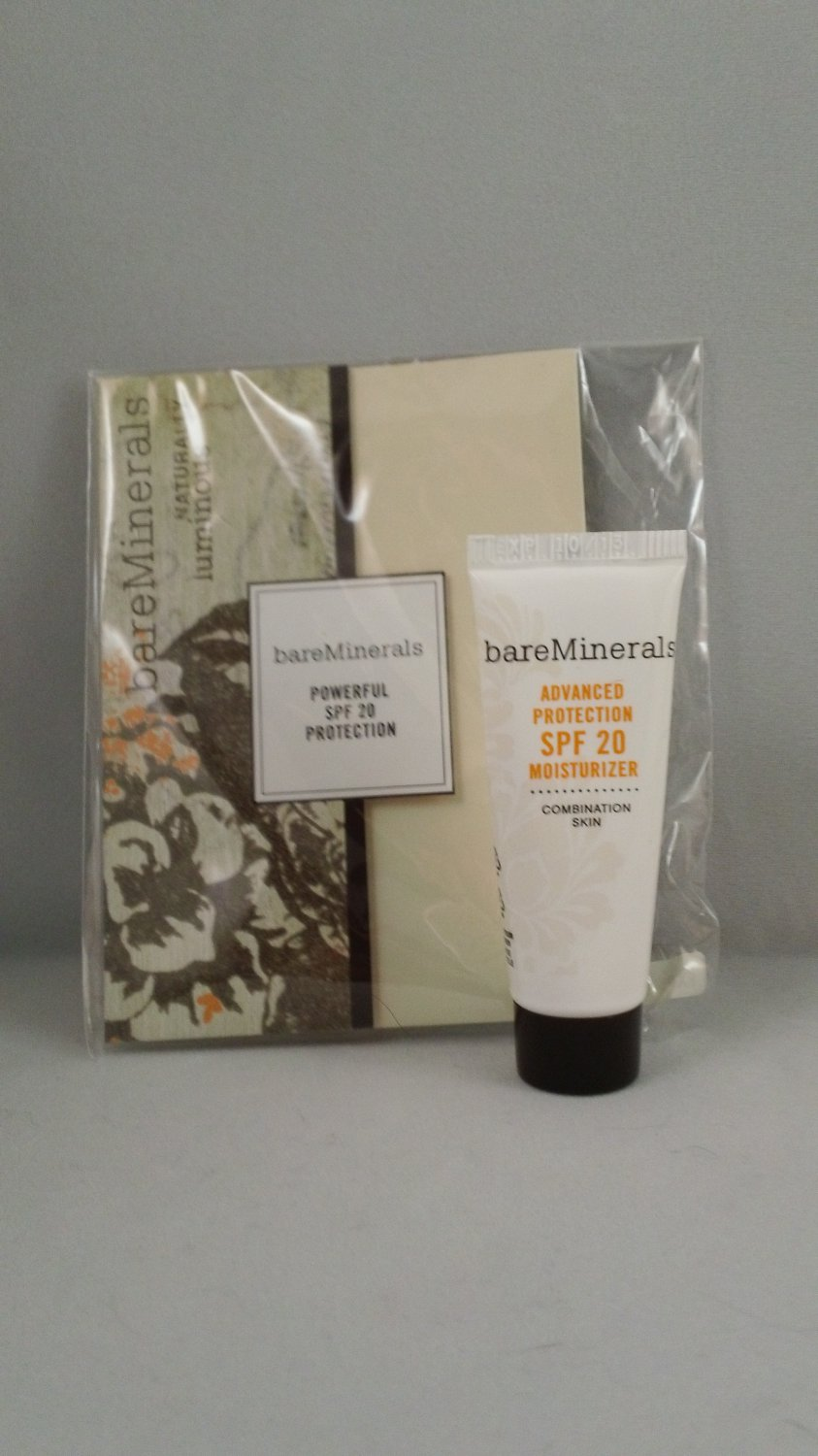 Bare Escentuals bareMinerals Advanced Protection SPF 20 Moisturizer Combination Skin trial size