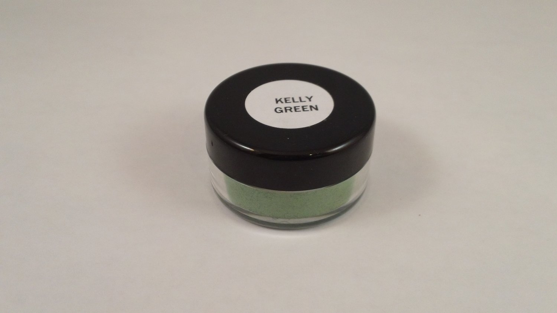 MAC Pigment Powder 10 g sample jar eye shadow Kelly Green