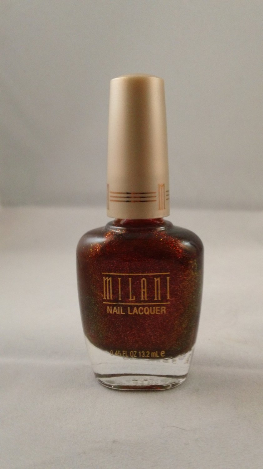 Milani Nail Lacquer Color Polish #848 Hot Flash