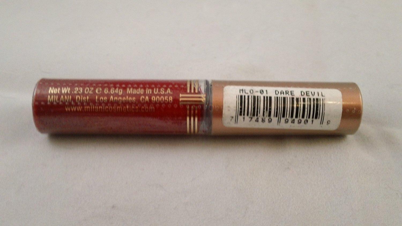 Milani Lotta Lip Liquid Color Gloss #01 Dare Devil lipgloss