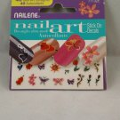 Nailene Nail Art Stickers Decals Designs Spring Flowers Butterflies Hearts
