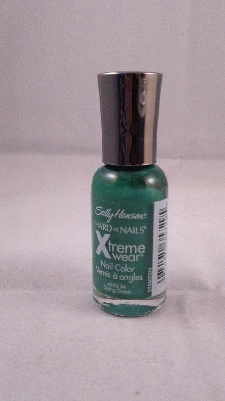 Sally Hansen Hard as Nails Xtreme Wear Nail Color Polish #34 Going Green