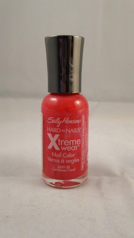 Sally Hansen Hard as Nails Xtreme Wear Nail Color Polish #36 Caribbean Coral