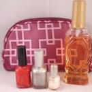 Generic Brand Nail Polish and Perfume Grab Bag with makeup case fragrance color unbranded
