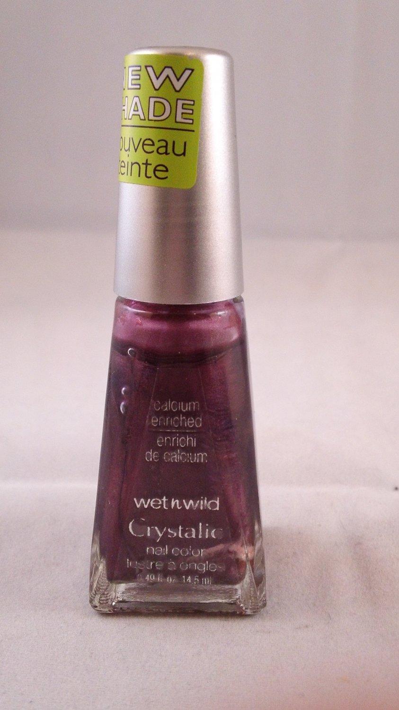 Wet n Wild Crystalic Nail Color Polish 476D Plum Haze