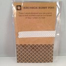 Birchbox Bobby Pins pair gray limited edition
