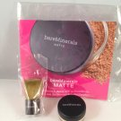 Bare Escentuals bareMinerals Matte SPF 15 Foundation sample N10 Fairly Light with Mini Buki Brush
