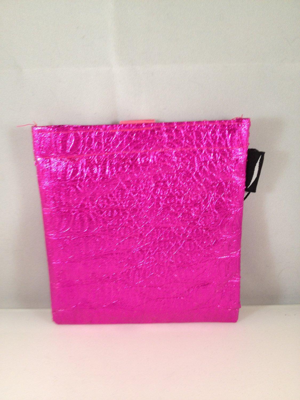 Sephora Mini Fuchsia Makeup Bag case holder clutch