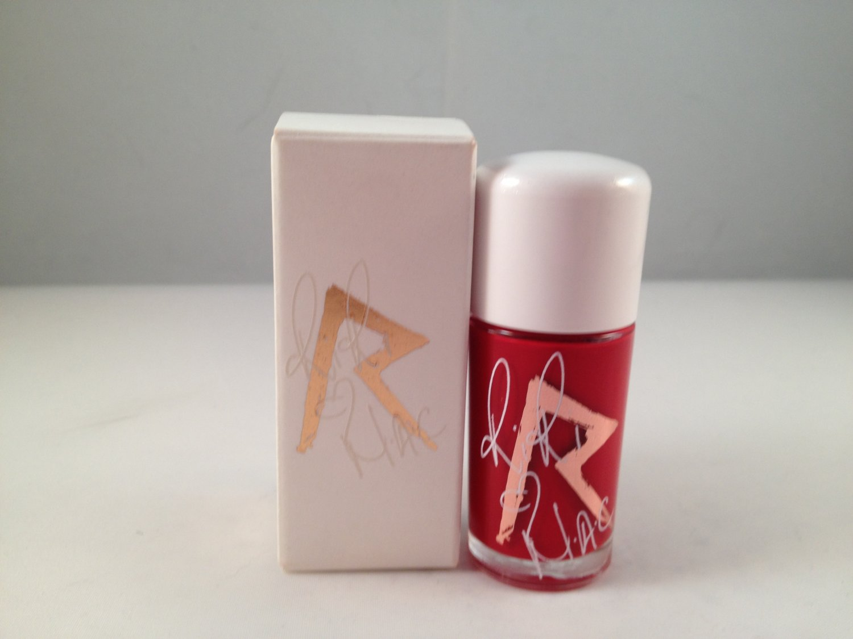 MAC Cosmetics RiRi Hearts MAC Collection Nail Lacquer Color Polish RiRi Woo love holiday