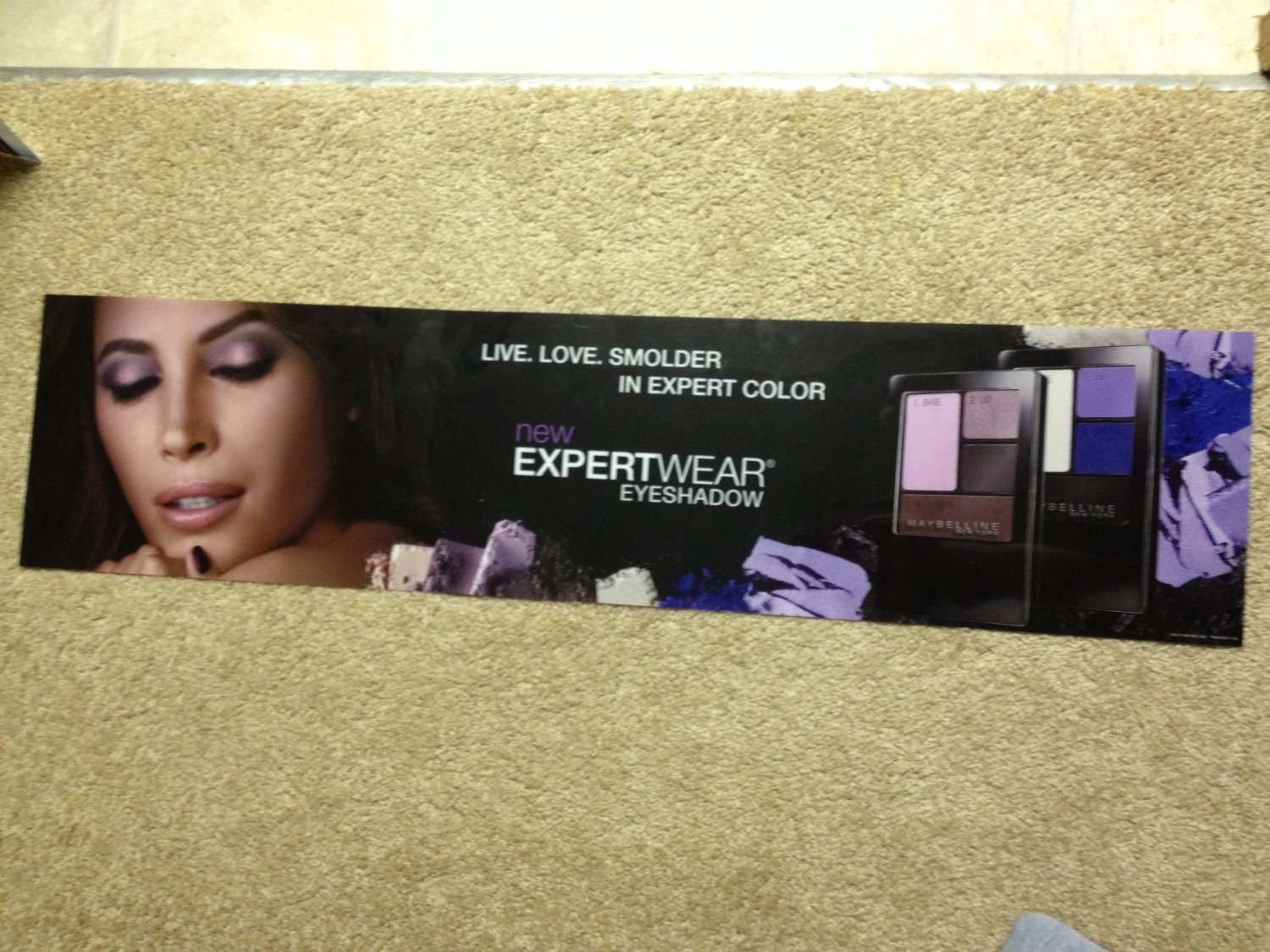 Maybelline ExpertWear Eyeshadow eye shadow Product Display Poster