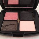 Lancome Color Design Mini Eyeshadow Palette Sensational Effects quad eye shadow Damaged