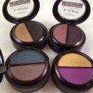 Lot of 4 L'Oreal HiP high intensity pigments Shadow Duo eyeshadow eye metallic bright