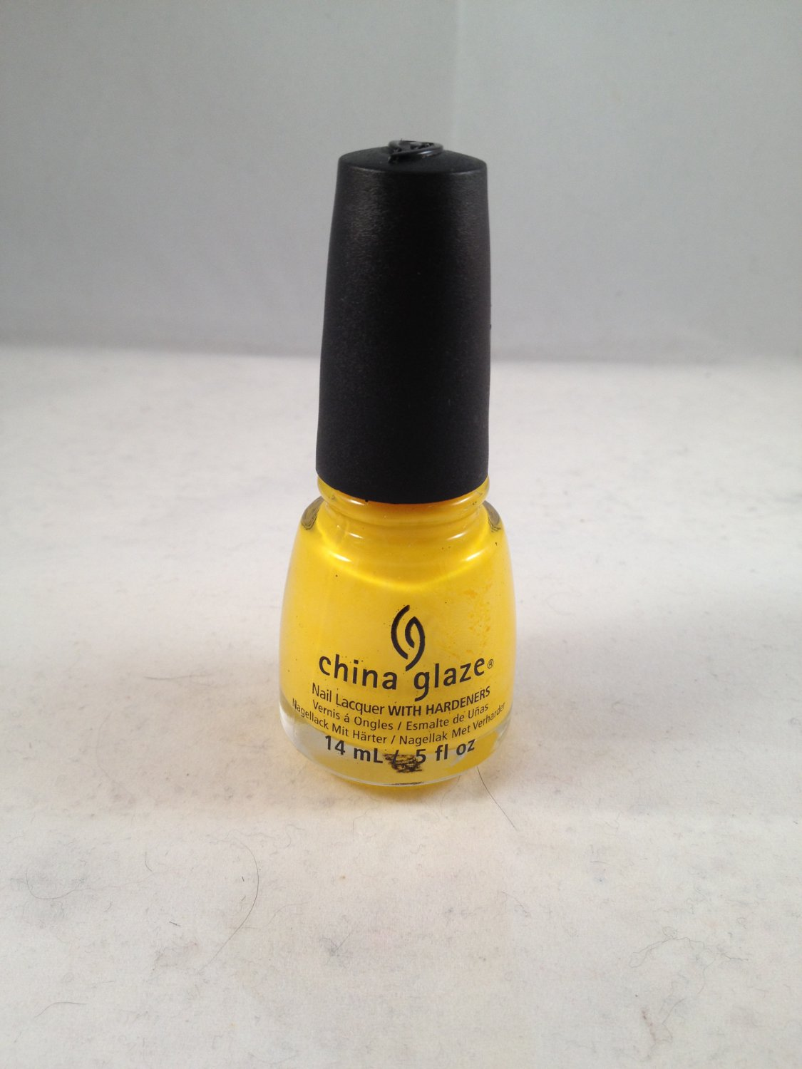 China Glaze Nail Lacquer with Hardeners #870 Happy Go Lucky color polish