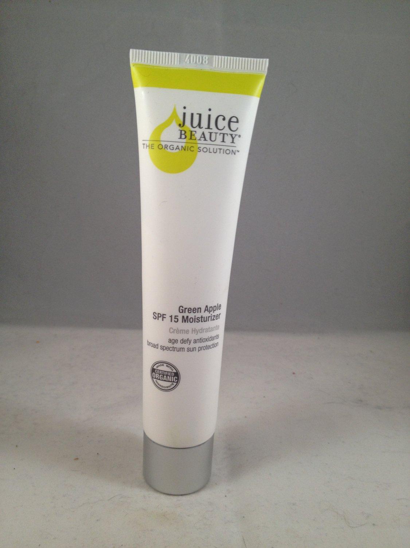 Juice Beauty Green Apple SPF 15 Moisturizer certified organic facial cream skincare