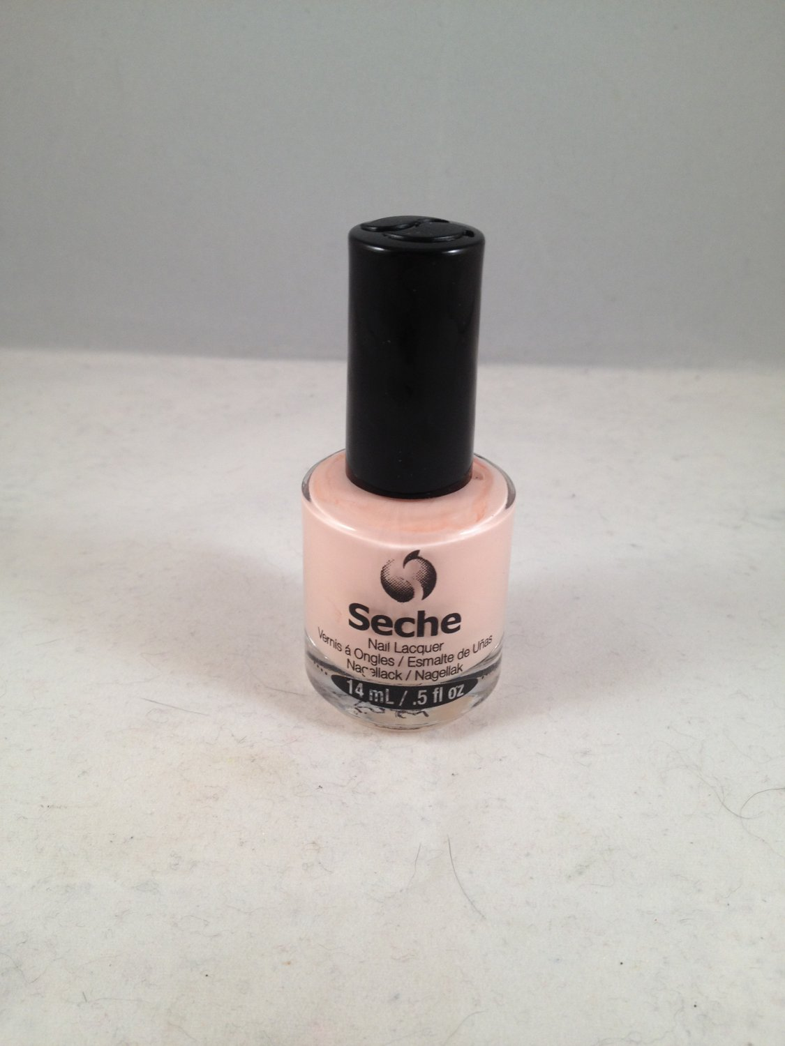 Seche Nail Lacquer Rose II color polish soft powder pink
