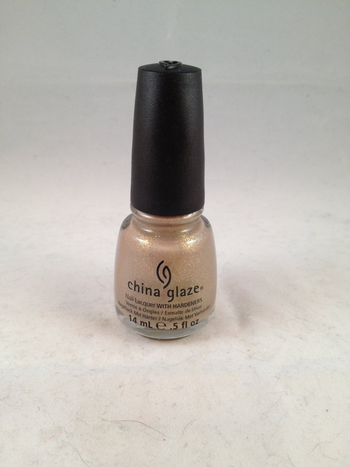China Glaze Nail Lacquer with Hardeners #1123 Fast Track color polish