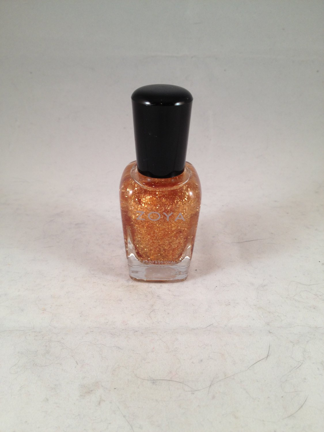 Zoya Professional Nail Lacquer Color Polish Maria Luisa gold cellophane special effect accent topper
