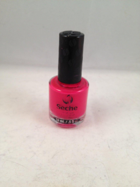 Seche Nail Lacquer Audacious color polish red fuchsia