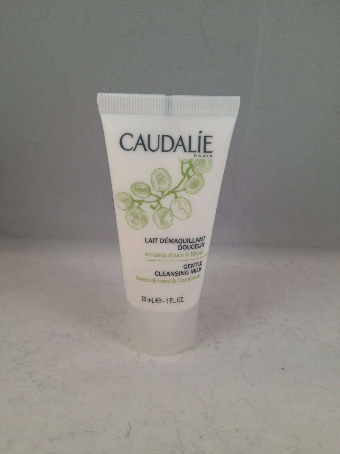 Caudalie Gentle Cleansing Milk travel size face skin care cleanser facial