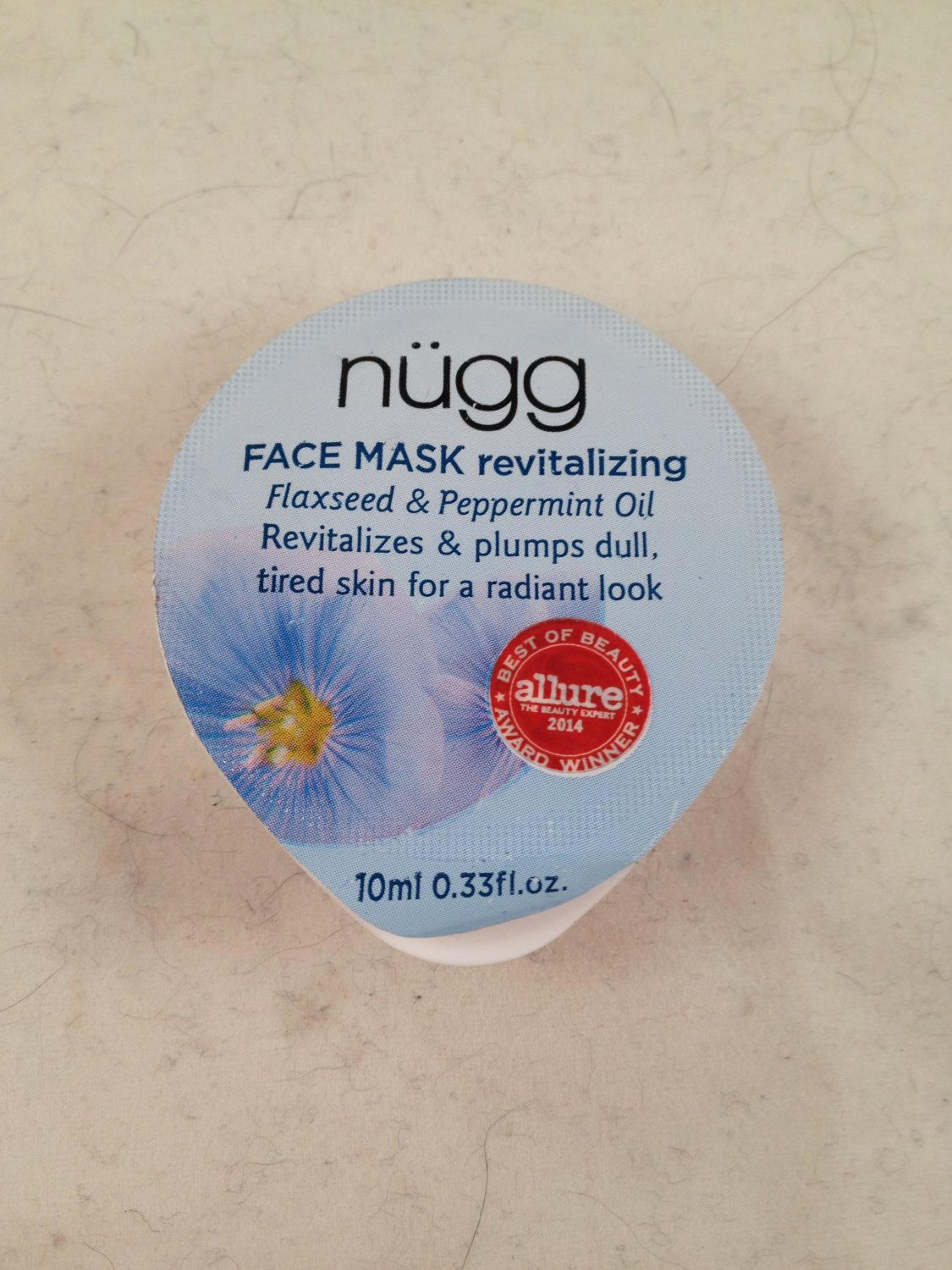 Nugg Revitalizing Face Mask Single skin care facial