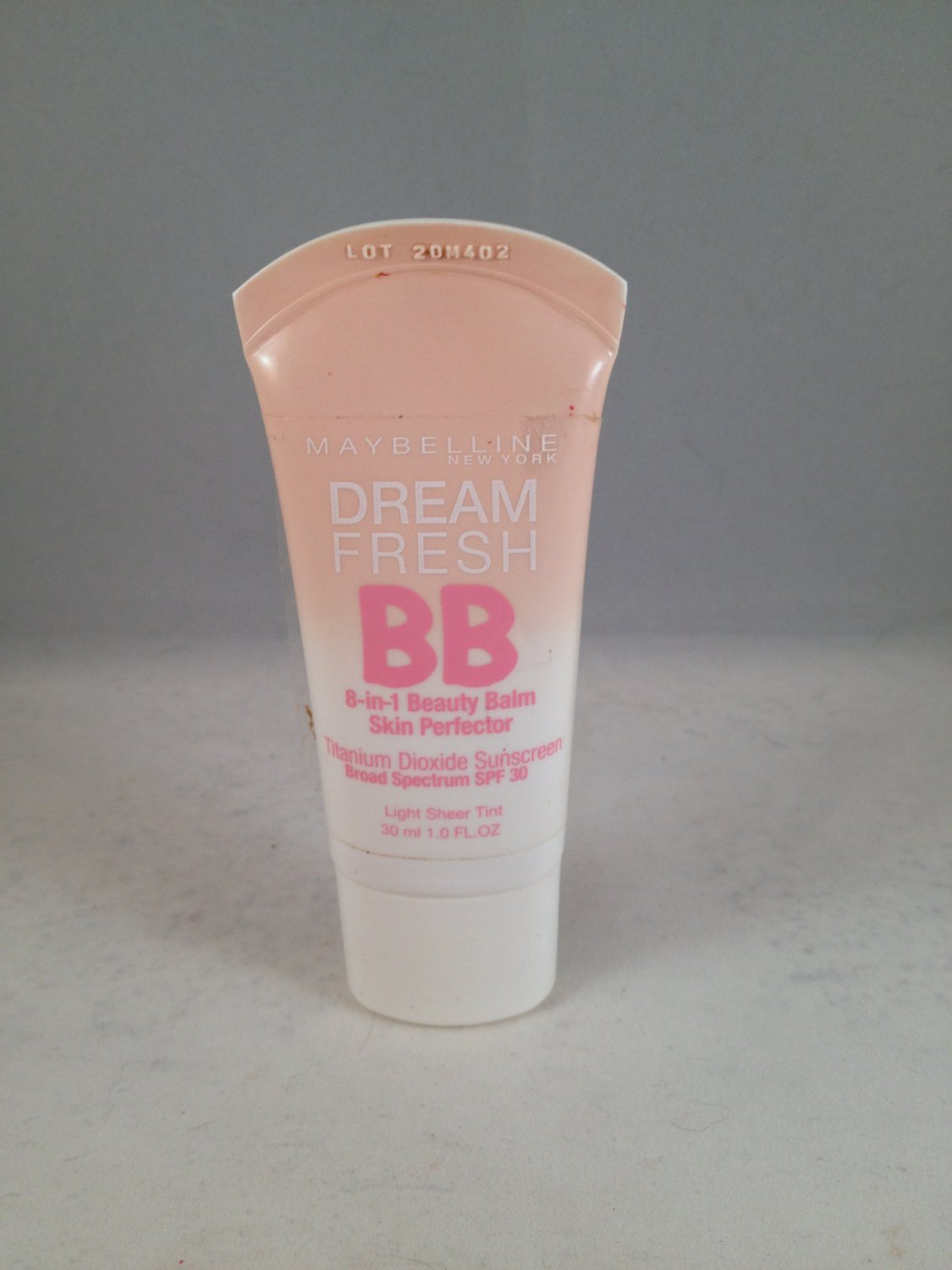 Maybelline Dream Fresh BB 8-In-1 Beauty Balm Skin Perfector Light Sheer Tint cream tinted